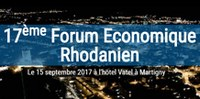 "Idiap co-organizes the 17th Economic Forum of the Rhône Valley, entitled ""Artificial Intelligence in all its forms"""