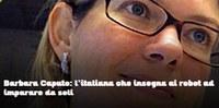 Barbara Caputo, former Idiap researcher, under the spotlights