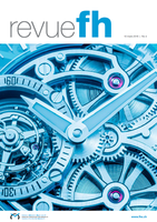 BioWatch, a successful Idiap spin-off, highlighted in the magazine of the Federation of the Swiss Watch Industry FH