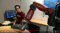 Canal9 visits the Baxter robot at Idiap