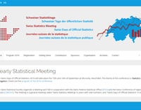 Idiap and Y@N at the Swiss Days of Official Statistics 2016