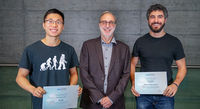 Idiap rewarded its PhD students for their work