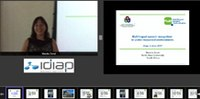 Idiap Speaker Series : 'Multilingual speech recognition in under-resourced environments' (Webcast now available).