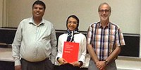 "On August 10, 2017, Marzieh Razavi successfully defended her PhD thesis entitled ""On Modeling the Synergy Between Acoustic and Lexical Information for Pronunciation Lexicon Development""."