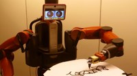Robot graffiti artist is the Banksy of the mechanical world