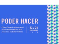 SenseCityVity at Poder Hacer: International Conference on Creative Cities