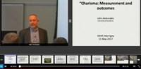 Idiap Speaker Series : 'Charisma: Measurement and outcomes' (Webcast now available).