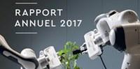 Parution de l'édition 2017 du Rapport annuel de l'Idiap