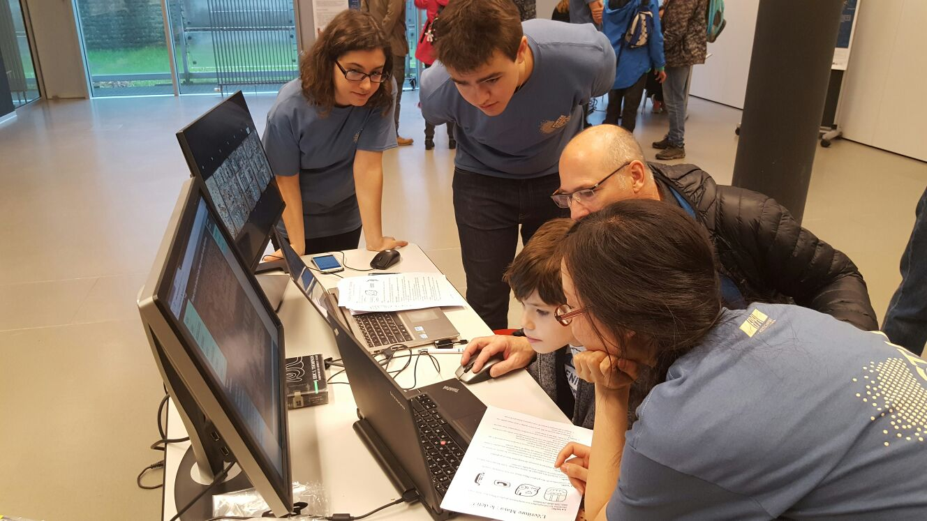 MAAYA project at EPFL Open Days 2016