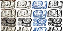 Maya glyph analysis on Horizons Magazine