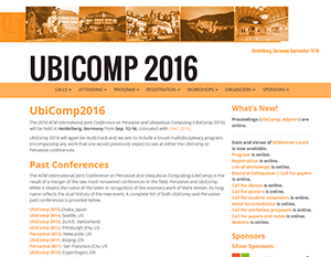 Cornell partners receive Ubicomp 2016 Best Paper Award